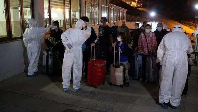 288 Koronavirüs Şüphelisi Trabzon'da Karantina Altında