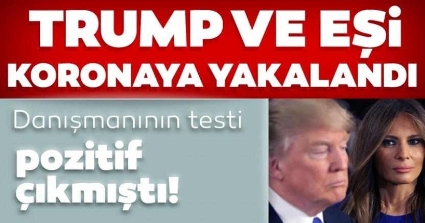 ABD Başkanı Donald Trump Koronaya Yakalandı