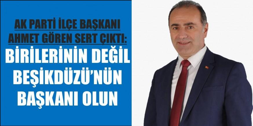AK Partili Başkandan CHP'li Başkana Sert Sözler