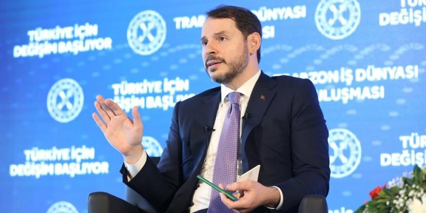 """Albayrak Trabzon'da konuştu: """"Güçlü adımlarla ilerleyeceğiz"""""""