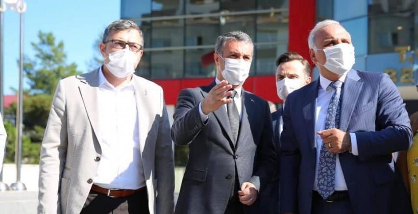 Başkan Bıyık'tan Büyükşehir'e İçme Suyu Teşekkürü