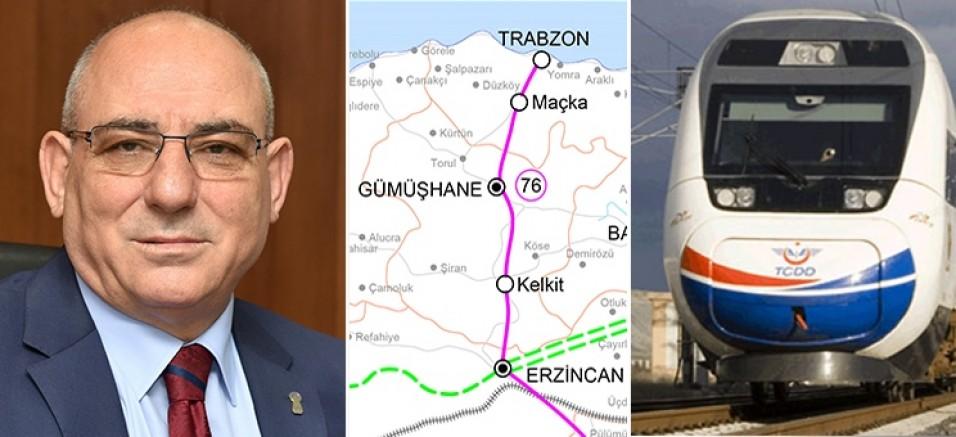 Başkan Kara: Bölge Ekonomisi İçin Erzincan-Gümüşhane-Trabzon Hattı Faaliyete Geçmelidir
