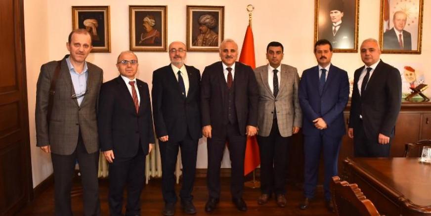 Başkan Zorluoğlu, Teknokent heyetini kabul etti