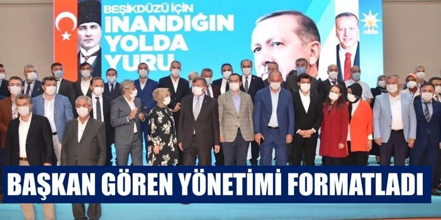 Beşikdüzü AK Parti'de Gören Güven Tazeledi