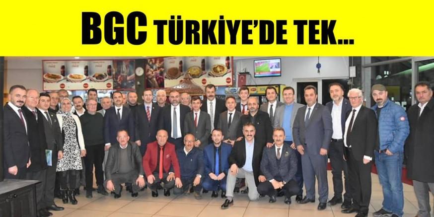 BGC, TÜRKİYE'DE TEK