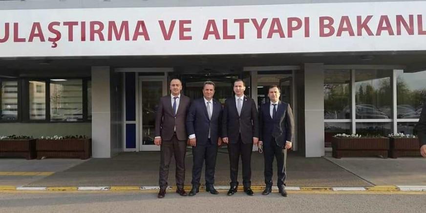 Çarşıbaşı heyeti Ankara'da...