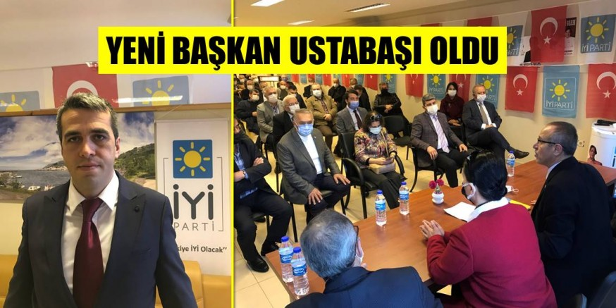 Çarşıbaşı İYİ Parti'de Bayrak Değişimi