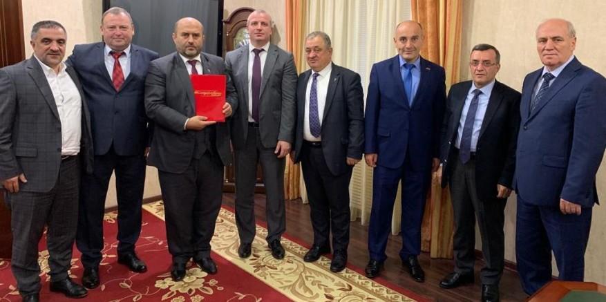 DKİB heyeti Kafkasya pazarlarını inceledi