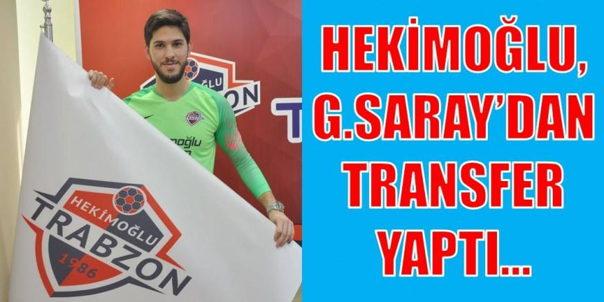 GALATASARAY'DAN TRABZON FK'YA…