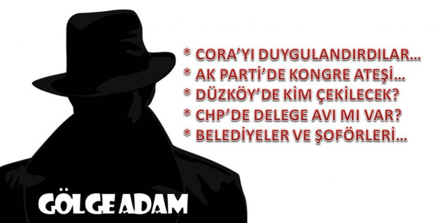 Gölge Adam'dan kulisler…