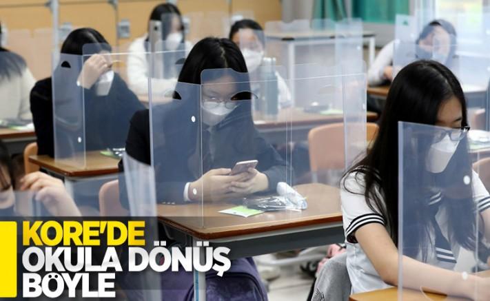 Güney Kore'de Okullar Kademeli Olarak Açılıyor