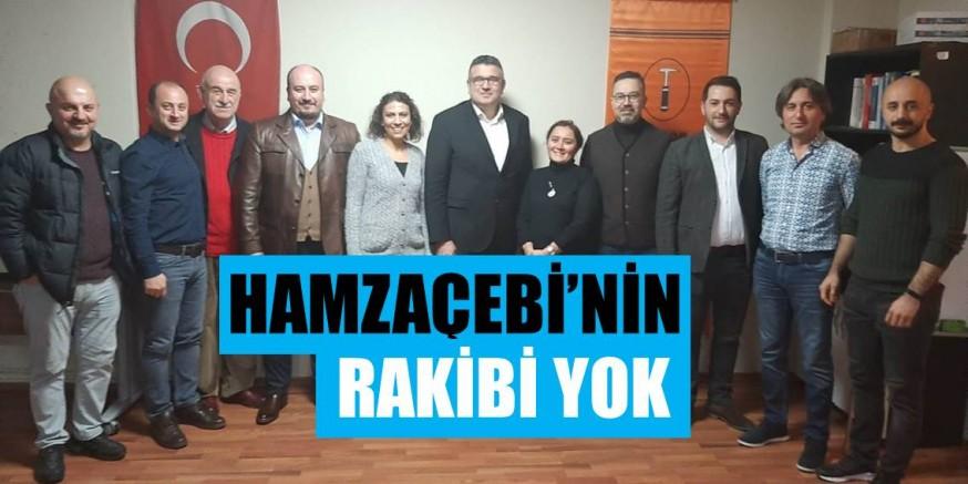 HAMZAÇEBİ'NİN RAKİBİ YOK