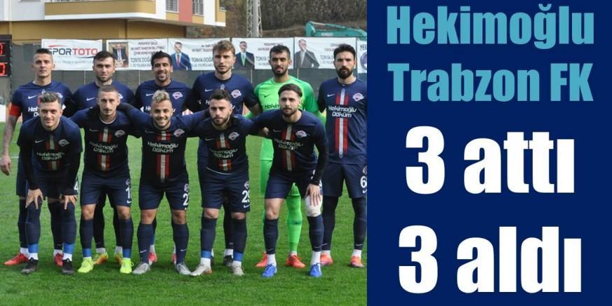 HEKİMOĞLU FK, TARSUS'U 3-2 YENDİ