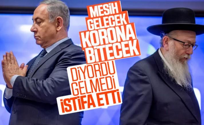 İsrail Sağlık Bakanı İstifa Etti