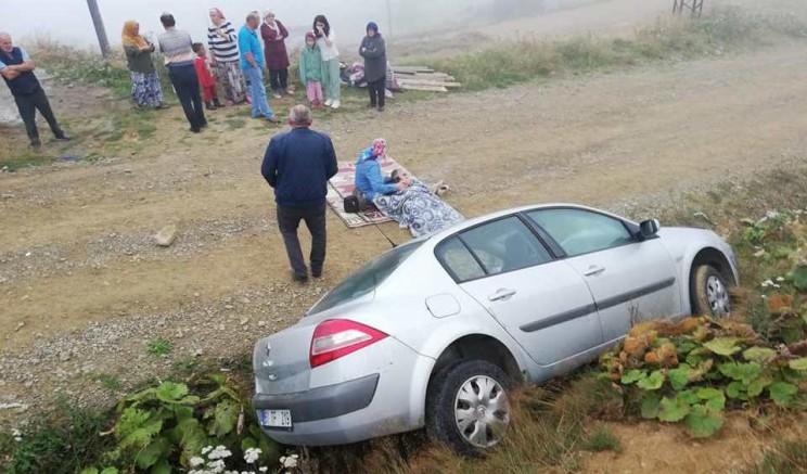 Karadağ'da Kaza: 1 Yaralı
