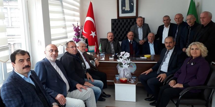 Oda başkanları Vakfıkebir'de toplandı