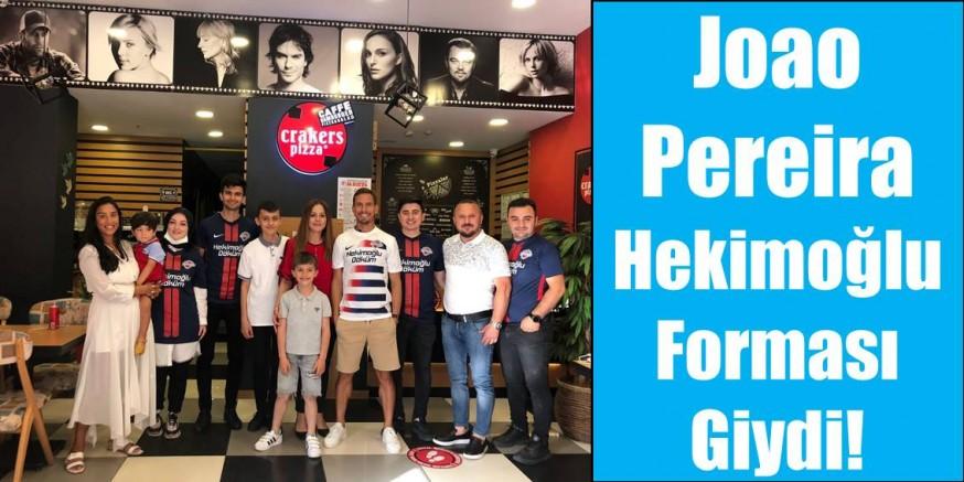 Pereira Hekimoğlu Trabzon FK formasını giydi