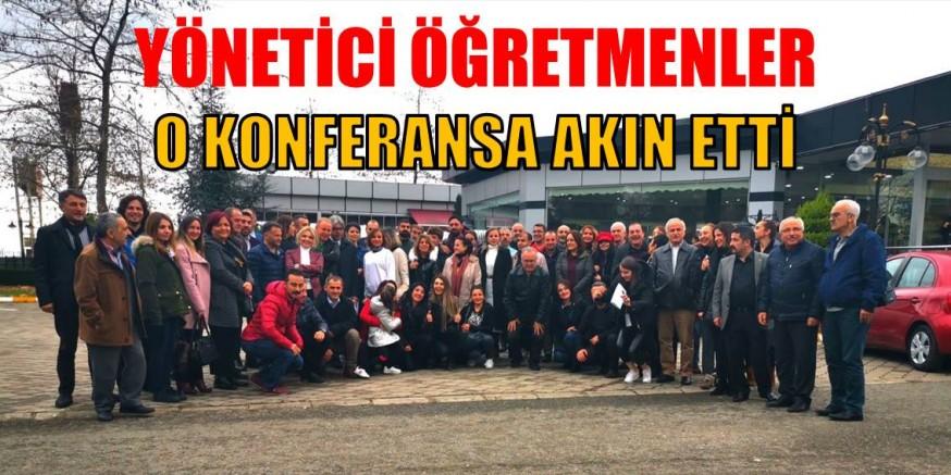 """""""SAHNE SANATI OLARAK ÖĞRETMENLİK"""" KONFERANSINA İLGİ BÜYÜK OLDU"""