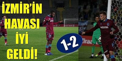 ALTAY: 1 - TRABZONSPOR: 2