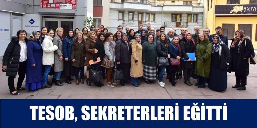TESOB GENEL SEKRETERLER EĞİTİM TOPLANTISI YAPILDI