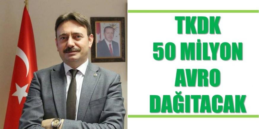TKDK 50 milyon avro hibe dağıtacak