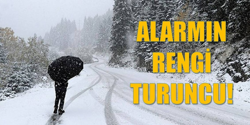 Trabzon'a kar geliyor!