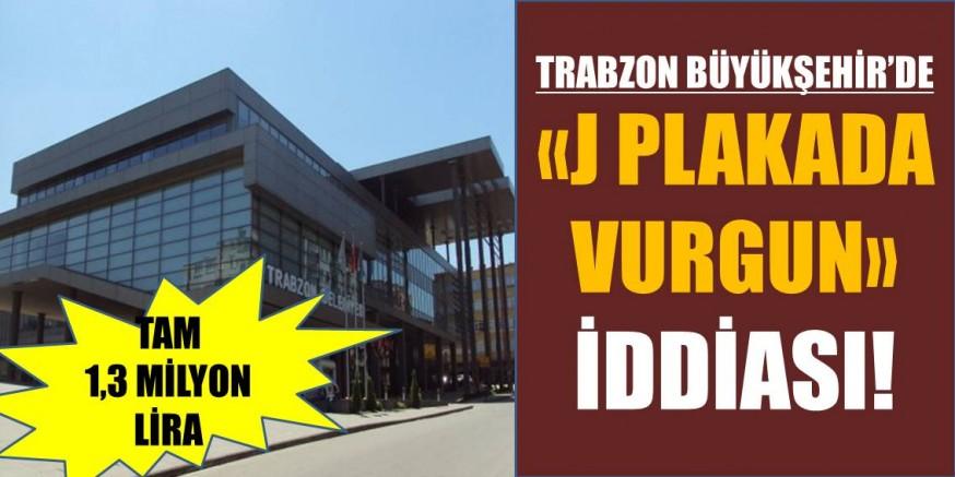 Trabzon Büyükşehir'de 1.3 Milyonluk Vurgun!