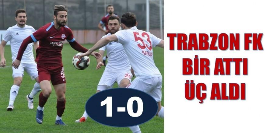 Trabzon FK 1 attı 3 aldı