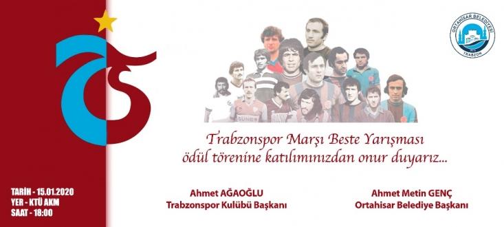 TRABZONSPOR MARŞI BESTE YARIŞMASI'NDA SONA GELİNDİ