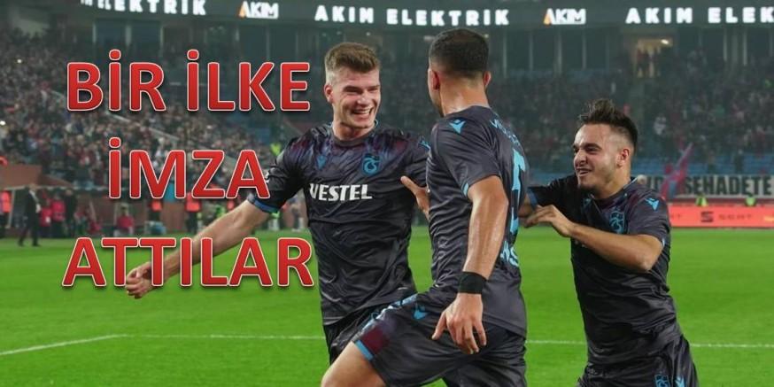 Trabzonspor siftah yaptı