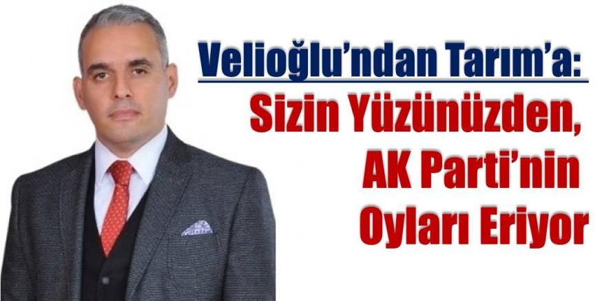 Velioğlu: MHP, AK Parti'nin Oylarını Eritiyor