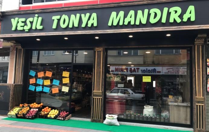 Yeşil Tonya Mandıra Çarşıbaşı'nda Açıldı