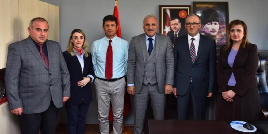 Zorluoğlu, Doğu Karadeniz Belediyeler Birliği'ni ziyaret etti